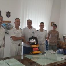 Donato un Defibrillatore alla Guardia Costiera di Pesaro