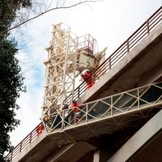 Ponte dei Conciatori foto orizzontale ispezioni dei mesi scorsi