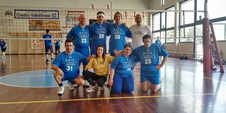 Volley integrato_Squadra cooperativa Alpha