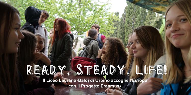 erasmus + ready steady life