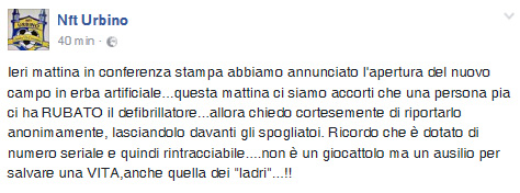 nft_furto defibrillatore post FB