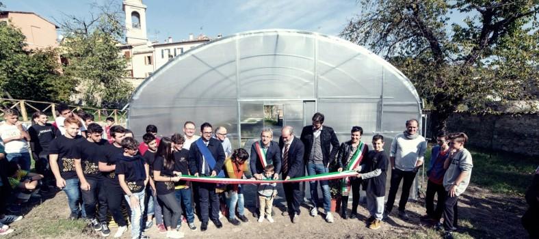Inaugurazione serra Agrario Urbania